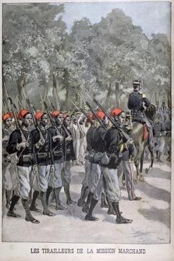 Riflemen, France, 1899 by Oswaldo Tofani
