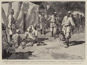 The Advance in the Soudan, Convict Labour at Wady Halfa, Rivetting a Chain on a Prisoner's Feet by Oswaldo Tofani