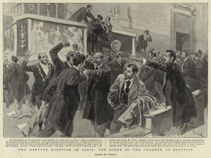 The Dreyfus Question in Paris, the Scene in the Chamber of Deputies by Oswaldo Tofani