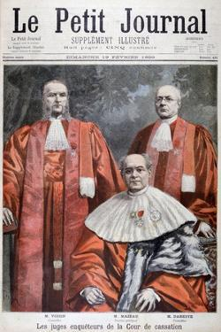 The Judges of the Supreme Court of Appeal, France, 1899 by Oswaldo Tofani