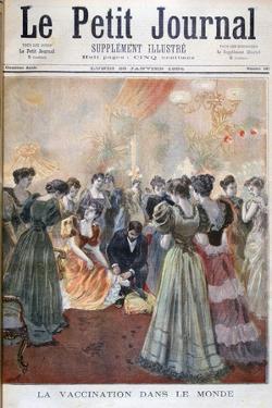 Vaccination Against Smallpox, Paris, 1894 by Oswaldo Tofani