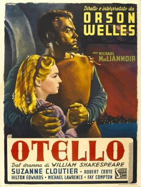 """Othello, 1952, """"The Tragedy of Othello: the Moor of Venice"""" Directed by Orson Welles"""