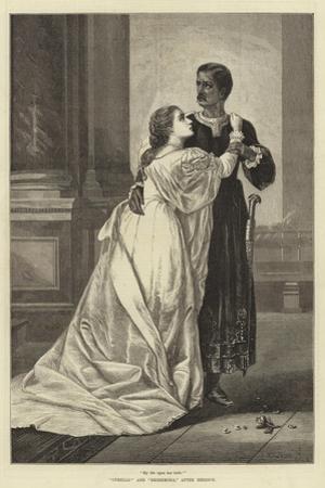 Othello and Desdemona, after Herrick