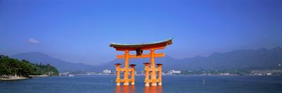 Otorii (Grand Gate) of Itsukushima Shrine Miyajima Hiroshima Japan