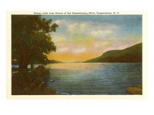 Otsego Lake, Susquehanna River, New York