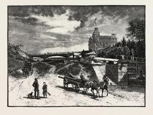 Ottawa, Rideau Canal Locks, Canada, Nineteenth Century