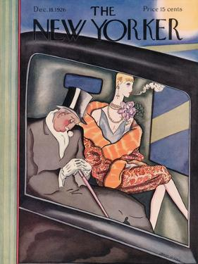 The New Yorker Cover - December 18, 1926 by Ottmar Gaul