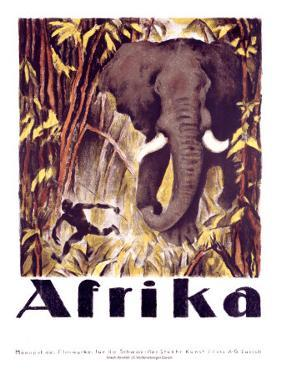Afrika by Otto Baumberger
