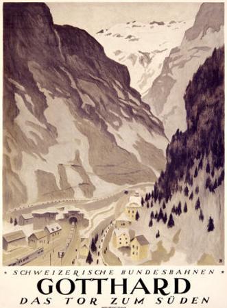 Gotthard by Otto Baumberger