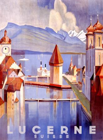 Lucerne by Otto Baumberger