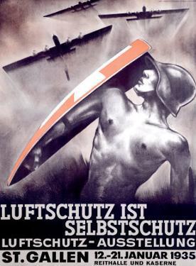 Luftschutz ist Selbstschutz by Otto Baumberger