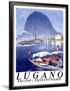Lugano by Otto Baumberger
