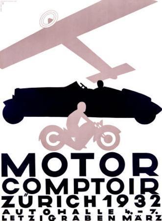 Motor Comptoir by Otto Baumberger