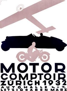 Motor Comptoir by Otto Baumberger