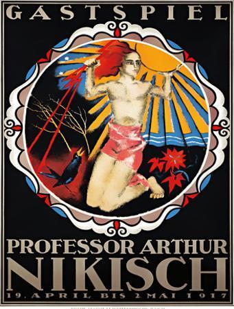 Professor Arthur Nikisch / Guest Performance , 1917 by Otto Baumberger