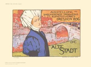 Dresden, Die Alte Stadt by Otto Fischer