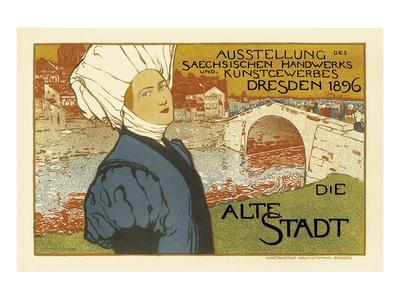 Exhibition of Saxon Artisanry and Commercial Art, Dresden, c.1896
