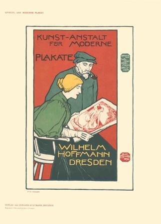 Kunst-Anstalt fur Moderne Plakate