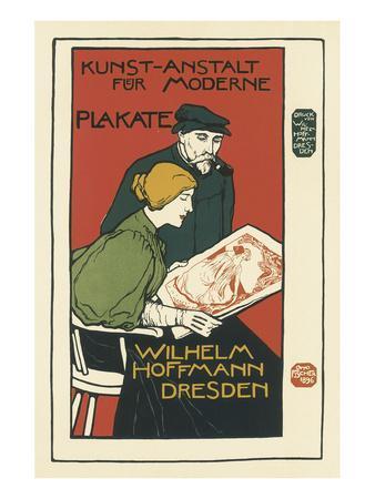 Wilhelm Hoffman, Printers of Modern Posters, Dresden
