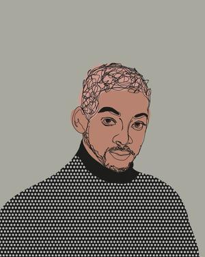 Celebrity Sketches - Fresh Prince by Otto Gibb