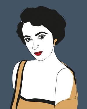 Celebrity Sketches - Glam by Otto Gibb