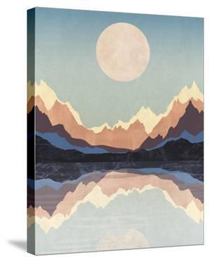 Mountain Lake by Otto Gibb