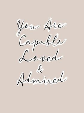 You are Capable by Otto Gibb
