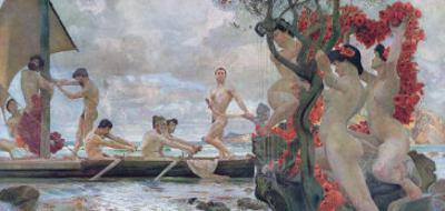 Ulysses and the Sirens, c.1900