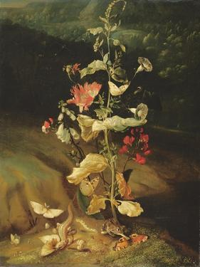Still Life with Flowers by Otto Marseus Van Schrieck