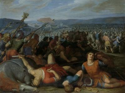 Batavians Defeating the Romans on the Rhine, Otto Van Veen