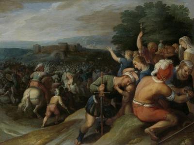 Batavians Surround the Romans at Vetera