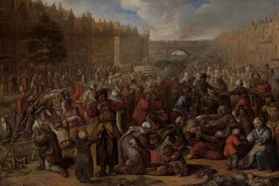 Distribution of Herring and White Bread at the Relief of Leiden, 3 October