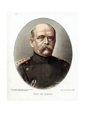 Otto Von Bismarck, German Statesman, C1880