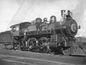 Northern Pacific Railway Locomotive No. 213, Ellensburg by Otto W. Pautzke