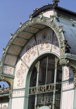 Karlsplatz Underground Station, Designed Between 1894 and 1899 by Otto Wagner