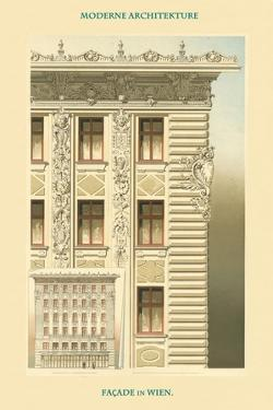 Viennese Façade - Austria by Otto Wagner