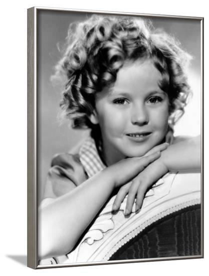 Our Little Girl, Shirley Temple, 1935--Framed Photo