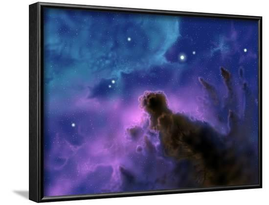 Our Sun May Have Formed from a Protostellar Nebula Like This One-Stocktrek Images-Framed Photographic Print