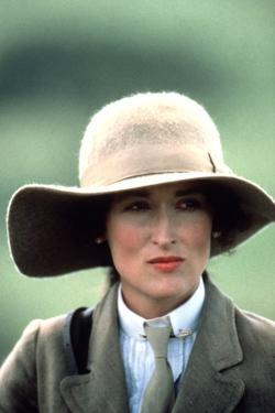 OUT OF AFRICA, 1985 directed by SYDNEY POLLACK Meryl Streep (photo)