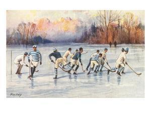 Outdoor Ice Hockey