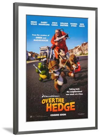 Over the Hedge--Framed Poster
