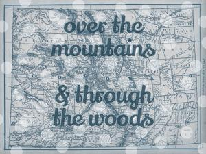Over the Mountains & Through the Woods - 1890, United States, Colorado, North America, Colorado Map