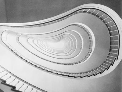 Overhead View of Staircase