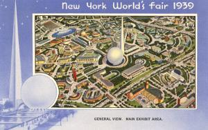 Overview, New York World's Fair, 1939