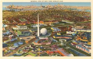 Overview of New York World's Fair, 1939