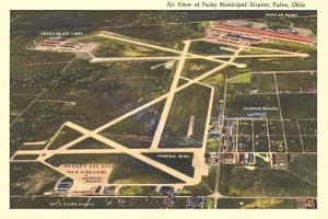 Overview of Tulsa Airport