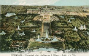 Overview of Versailles, France