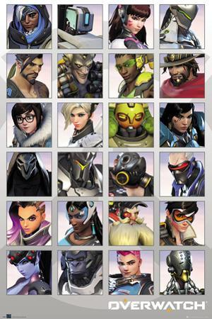 Overwatch - Character Portraits