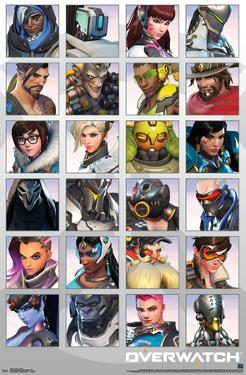 OVERWATCH - PORTRAITS