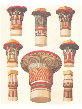 Egyptian Capitals by Owen Jones